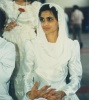 At her wedding marrying Na'eem Jeenah, 20 December 1987